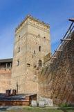 Castello del ` s di Lubart in Lutsk Fotografia Stock Libera da Diritti