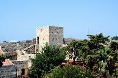 Castello del san Peter in Bodrum Fotografie Stock Libere da Diritti