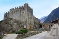 Castello del tenno L'Italia Immagini Stock Libere da Diritti