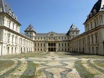 Castello del Valentino, Turin royalty free stock photo