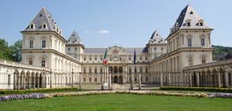 Castello del Valentino, Turin Royalty Free Stock Photos