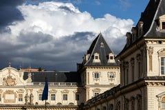 Castello del Valentino in Turin, Italy Stock Photos