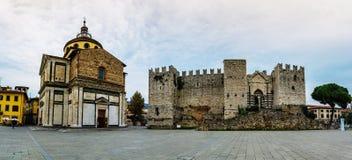 Castello dell'Imperatore σε Prato, Ιταλία στοκ φωτογραφία με δικαίωμα ελεύθερης χρήσης