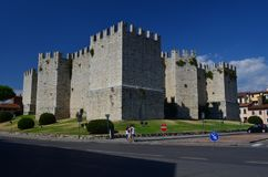 Castello dell`Imperatore Prato Italy Tuscany. Medieval Castle Royalty Free Stock Photos