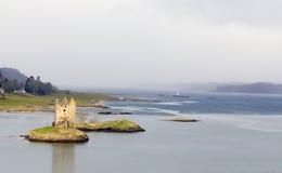 Castello dell'inseguitore in Scozia Fotografia Stock Libera da Diritti