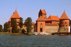 Castello dell'isola fotografie stock libere da diritti
