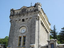 castello della casa Fotografia Stock