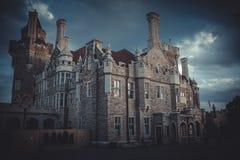 castello della casa Loma a Toronto Fotografia Stock Libera da Diritti