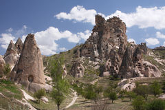 Castello della caverna Fotografia Stock Libera da Diritti