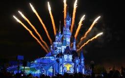 Castello della Cinderella Fotografia Stock