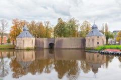 Castello della città Breda, Paesi Bassi immagine stock libera da diritti