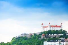 Castello della città di Bratislava Fotografia Stock Libera da Diritti