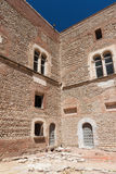castello della cittadella di tredicesimo secolo in Francia Fotografia Stock