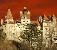 Castello della crusca del Dracula, Transylvania, Romania Immagine Stock Libera da Diritti