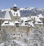 Castello della crusca del Dracula, Transylvania, Romania Immagini Stock Libere da Diritti