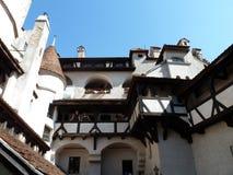 Castello della crusca nella Transilvania Fotografia Stock