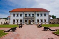 Castello della facciata di Zbarazh Fotografia Stock Libera da Diritti