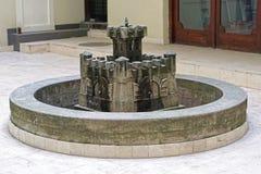 Castello della fontana Immagini Stock Libere da Diritti