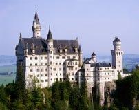 Castello della Germania, Baviera, il Neuschwanstein Immagine Stock Libera da Diritti