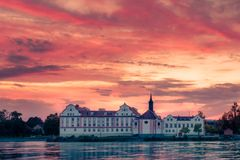 Castello della locanda di Neuhaus  fotografia stock