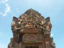 Castello della pietra del gradino di Phanom Fotografia Stock