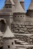 Castello della sabbia Immagini Stock Libere da Diritti