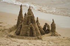 Castello della sabbia Fotografie Stock