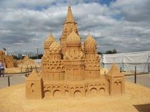 Castello della sabbia Fotografia Stock