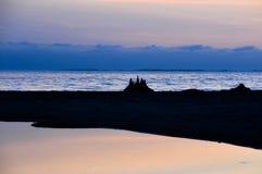 Castello della sabbia Fotografie Stock Libere da Diritti