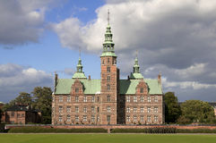 Castello della scanalatura di Copenhaghen Rosenborg Fotografie Stock