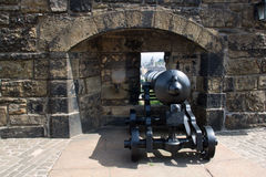 Castello della Scozia, Edimburgo Immagini Stock