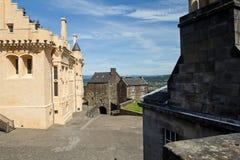 Castello della Scozia, Stirling Fotografie Stock