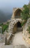 Castello della st Hilarion, Northem Cipro Fotografie Stock Libere da Diritti