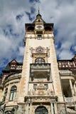 Castello della torre di Peles, Sinaia, Romania Fotografia Stock