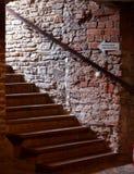Castello delle scale Fotografie Stock Libere da Diritti