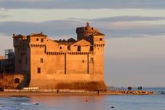 Castello dello S. Severa Fotografia Stock