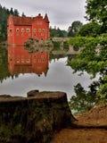 Castello dello stato di ?ervená Lhota Fotografia Stock Libera da Diritti
