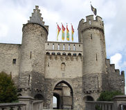 Castello dello Steen Fotografia Stock Libera da Diritti
