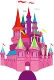 Castello dentellare di Fairy-tale illustrazione vettoriale