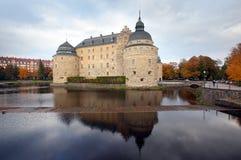 Castello di Ãrebro Immagine Stock