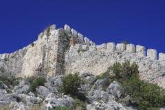 Castello di 308 Alanya Immagine Stock