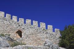 Castello di 310 Alanya Immagini Stock Libere da Diritti
