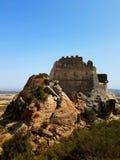 Castello di Acquafredda in siliqua sardinia L'Italia fotografia stock