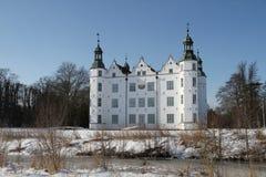 Castello di Ahrensburg, Germania, Schlesvig-Holstein Immagini Stock Libere da Diritti