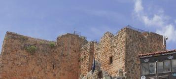 Castello di Ajloun immagini stock