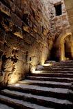 Castello di Ajloun in Giordania fotografia stock libera da diritti