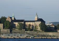 Castello di Akershus a Oslo Immagine Stock Libera da Diritti