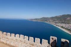 Castello di Alanya Fotografia Stock