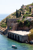 Castello di Alanya Fotografie Stock Libere da Diritti