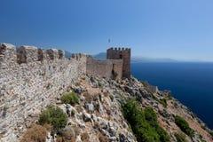 Castello di Alanya Immagini Stock Libere da Diritti